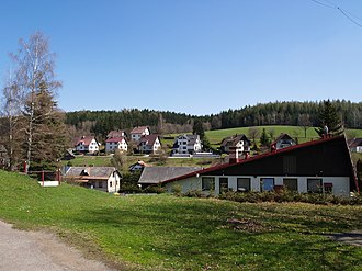 Mříčná - General view of the village