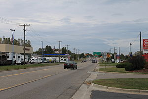 M-52 (Michigan highway) - M-52 north of I-94 intersection, Chelsea