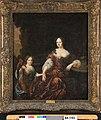 M. van Musscher - Portret van een vrouw en een meisje - NK1705 - Cultural Heritage Agency of the Netherlands Art Collection.jpg