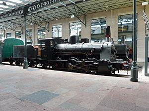 Gijón Railway Museum - Image: MFA Steam loc 1672