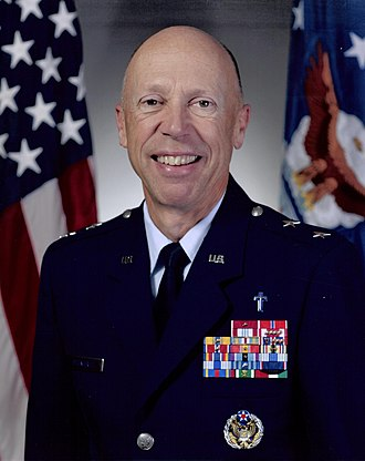 Howard D. Stendahl - As Chief of Chaplains of the United States Air Force.