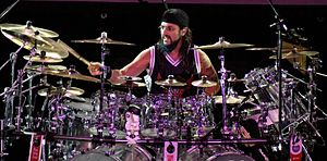 Dream Theater - Mike Portnoy announced that he would be leaving Dream Theater on September 8, 2010.