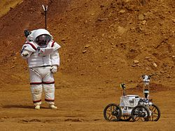 MOONWALK project astronaut - robot cooperation 2016-04-27 Rio Tinto.jpg