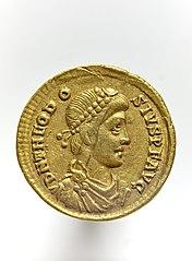 Solidus de Théodose 1er 2000.14.204