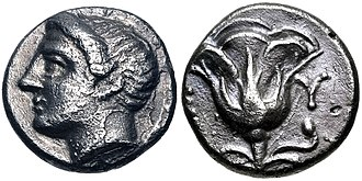 Mysia - Coinage of Memnon of Rhodes, Mysia. Mid-4th century BC