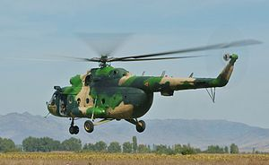Army of the Republic of Macedonia - Macedonian Mi-8 in EUFOR Althea Mission in BiH