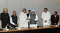 Madhu Kora, the Chief Minister of Chhattisgarh, Dr Raman Singh, the Chief Minister of Orissa, Shri Naveen Patnaik.jpg