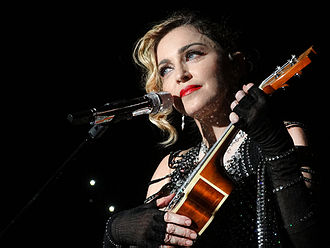 "La Vie en rose - Madonna singing ""La Vie en rose"" during her Rebel Heart Tour in 2015"