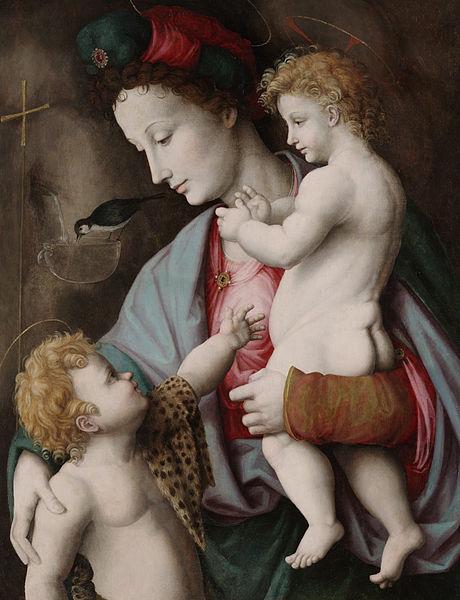 Fichier: Madone et l'Enfant avec saint Jean - Bacchiacca (1525). Jpg