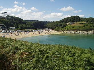 Maenporth - Maenporth beach