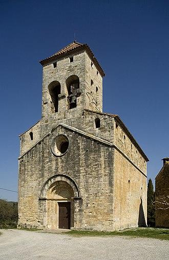 Maià de Montcal - St. Vincent's parish church
