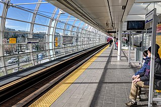 Main Street–Science World station Metro Vancouver SkyTrain station