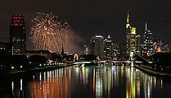 Mainfest's fireworks.