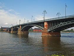 Мост Википедия Мост Теодора Хойса 1882 1885
