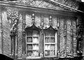 Maison François 1er dite de la Salamandre - Façade sur rue - Fenêtres jumelées à accolades du 1e étage - Lisieux - Médiathèque de l'architecture et du patrimoine - APMH00001557.jpg