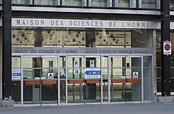 Maison des sciences de l'homme, 54 boulevard Raspail, Paris 6e 2.jpg