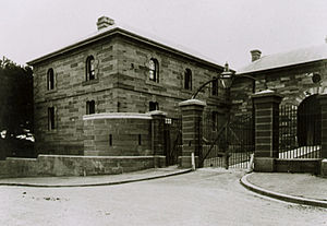 Maitland Gaol - The former Maitland Goal and Governor's House