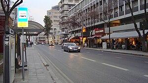 Makarios Avenue - View of Makariou Avenue