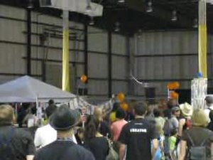 File:Maker Faire 2008 Tesla Coil.ogv