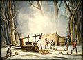 Making Maple Sugar, Lower Canada, 1837.jpg