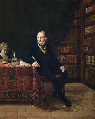 Matilde Malenchini - Portrait of Louis de Potter