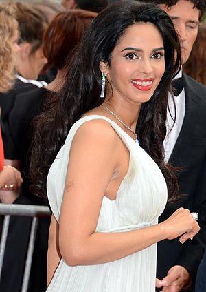 Mallika Sherawat - Sherawat at the Cannes Film Festival, 2014