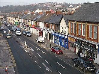 Shaftesbury, Newport - Image: Malpas Road geograph.org.uk 731193