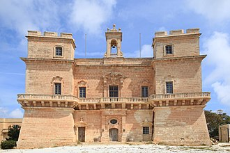 Wignacourt towers - Selmun Palace, whose design was influenced by the Wignacourt towers