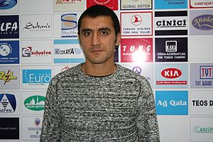 Azerbaijan Premier League - Khagani Mammadov is one of the highest goalscorers in Premier League.