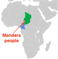 Mandara people with caste system Sahel Africa.png