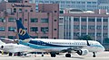 Mandarin Airlines Embraer ERJ-190AR B-16821 Taxiing at Taipei Songshan Airport 20150913b.jpg