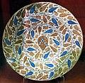 Manises, piatto con stemma neroni, 1425-1450 ca. 01.JPG