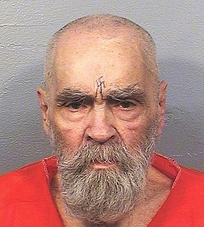 Charles Manson American criminal, cult leader, musician