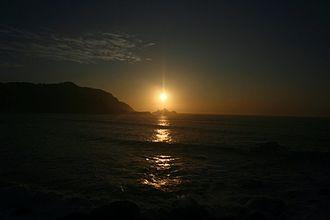 Manyuchi Dam - Sunrise and dusk looking east