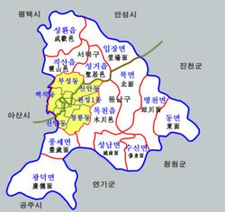 Seobuk-gu - Wikipedia