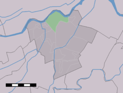 Achthoven in the municipality of Zederik.