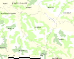 Map commune FR insee code 40232.png