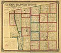 Map of Delaware County - also a part of Marion and Morrow counties LOC 2012592230.jpg