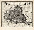 Map of Ghent by Isaak Tirion - Guillaume de l'Isle.JPG