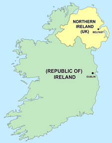Empty Map Of Ireland.The Troubles Wikipedia