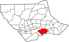 Map of Lycoming County Pennsylvania Highlighting Clinton Township.png