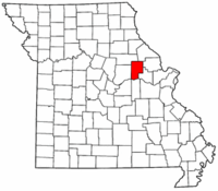 Map of Missouri highlighting Montgomery County.png