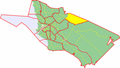 Map of Oulu highlighting Saviharju.png