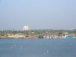 Mappila Bay - View from Kannur fort.