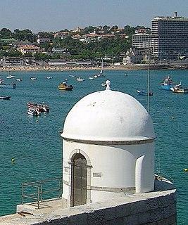 Cascais tide gauge building in Cascais, Lisbon District, Portugal