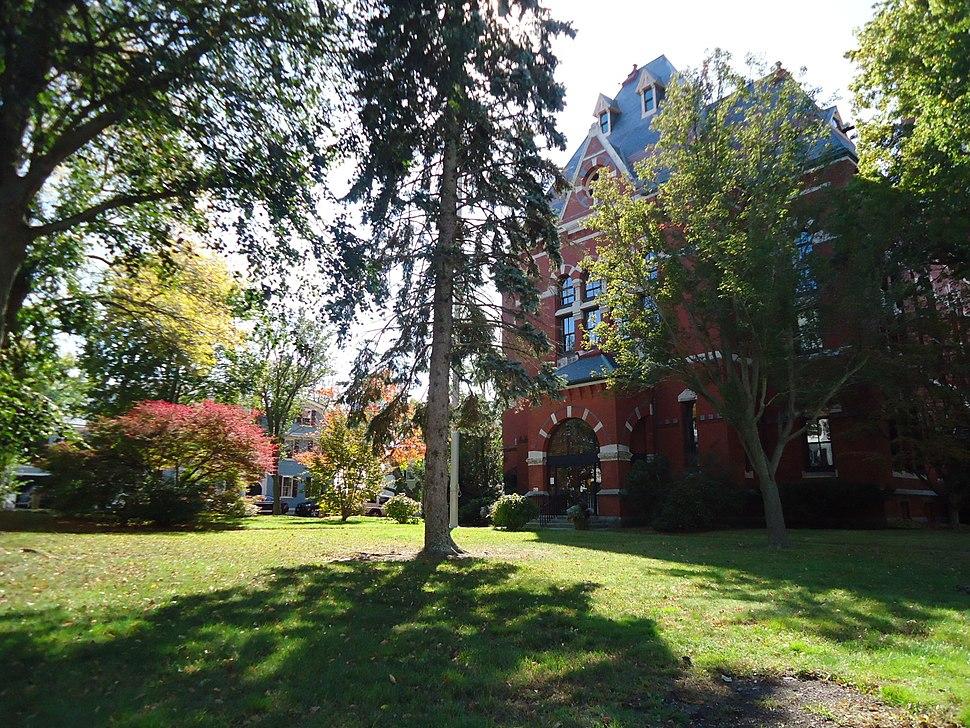 Marblehead Massachusetts Abbot Hall exterior view autumn 2013