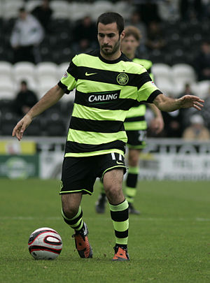 Marc Crosas - Crosas during his time at Celtic in September 2009