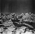 Margerie Glacier, tidewater glacier, icefall and cirque glaciers, September 12, 1973 (GLACIERS 5630).jpg