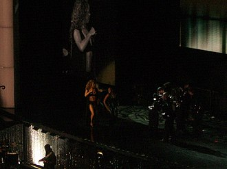 """Dreamlover (song) - Mariah Carey performing """"Dreamlover"""" on The Adventures of Mimi Tour in 2006"""