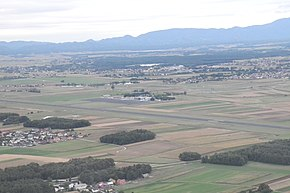 Maribor airport from airplane.jpg
